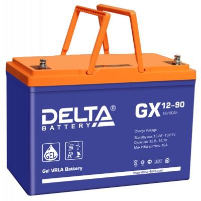 GEL аккумулятор DELTA GX 12-90